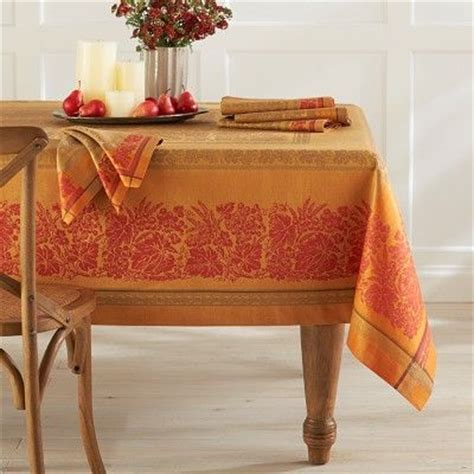 wine country harvest jacquard tablecloth williamssonoma