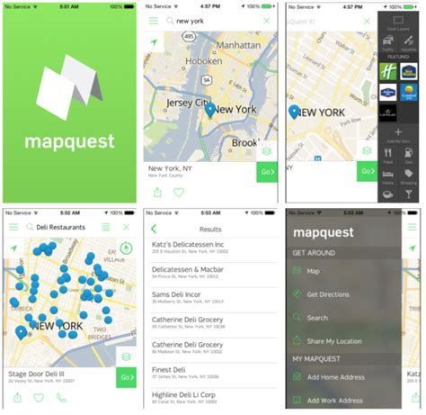 Mapquest Home by Mapquest Aims For Revival With New Mobile App
