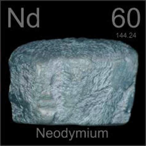 pictures stories  facts   element neodymium