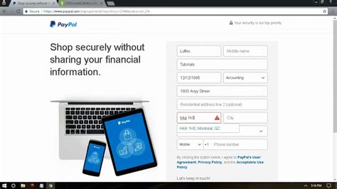 how to make paypal without credit card can i create a paypal account without credit card