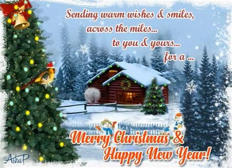 close  thought   miles  merry christmas wishes ecards