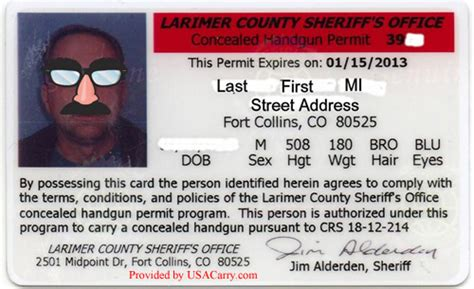 concealed carry permit oops you re right there is no colorado non resident
