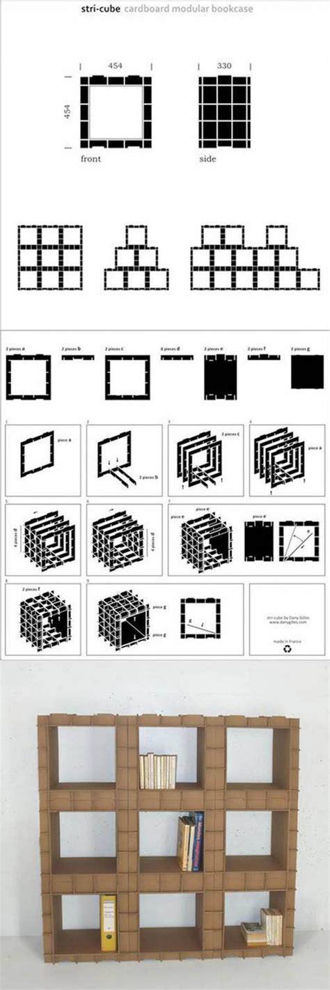 come costruire una libreria fai da te come costruire una libreria modulare di cartone modulato