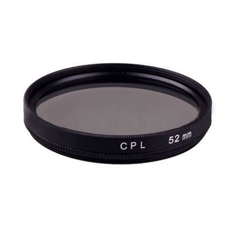 Filter Cpl 52mm Canon Nikon Sony 52mm cpl circular polarizing polarizer lens filter for