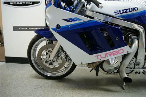 Suzuki Gsxr 1100 Turbo 1990 Suzuki Gsxr 1100 Turbo Blue White Extended
