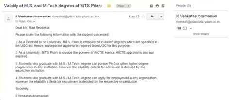 Bits Pilani Mba Quora by Is Wilp Cus Ms In Software Systems From Bits
