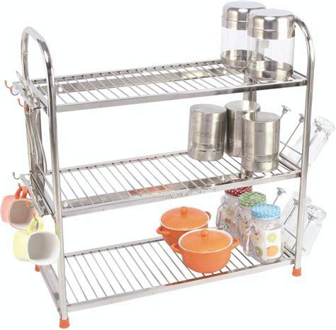 Stainless Steel Kitchen Rack Buy amol stainless steel kitchen rack price in india buy