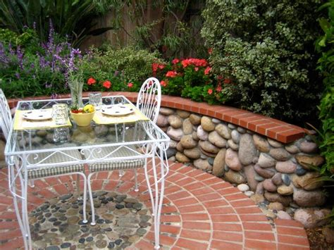 landscape patio design brick patio ideas landscaping network