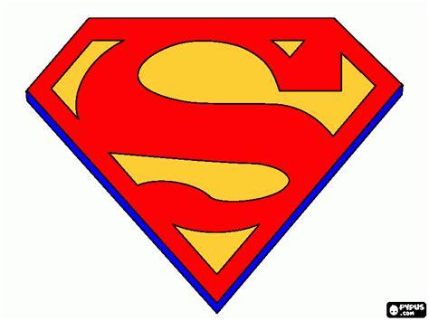 superman colors superman color coloring page printable superman color