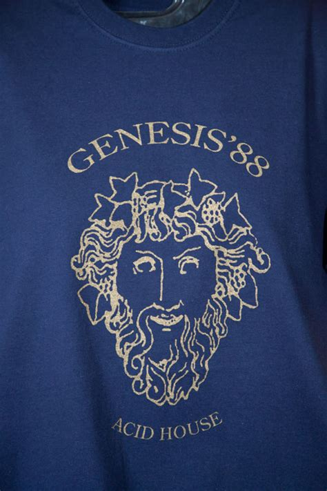 T Shirt Acid House 88 the history of acid house genesis 88 limited edition t
