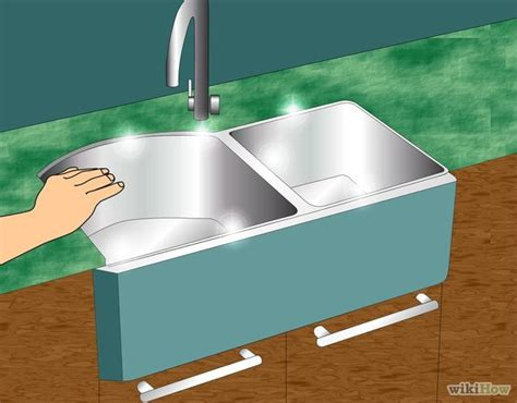 kitchen sink caulk how to caulk the kitchen sink wikihow