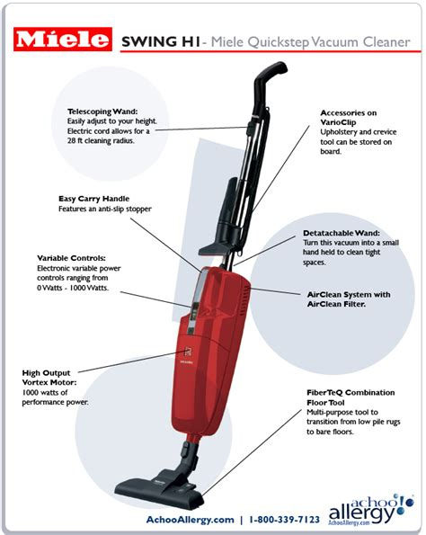 miele swing miele h1 swing upright stick vacuum cleaner