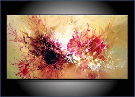 modern paints commission painting modern abstract art by renaeschoeffelart