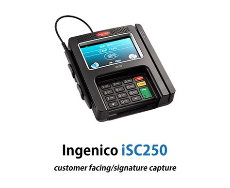 Ingenico iSC Touch 250   Leap Payments