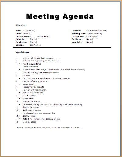 sales team meeting agenda template best 25 meeting agenda template ideas on team