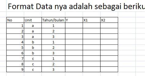 Tiket Pelatihan Eviews Untuk Statistics Econometrics 1 tutorial eviews import data panel file ms excell dan estimasi dengan eviews melek analisis