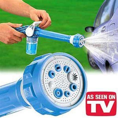 Ez Jet Water Cannon Turbo Water Spray Gun shop ez jet water cannon 8 in 1 turbo water spray gun cleaning car home garden shopclues