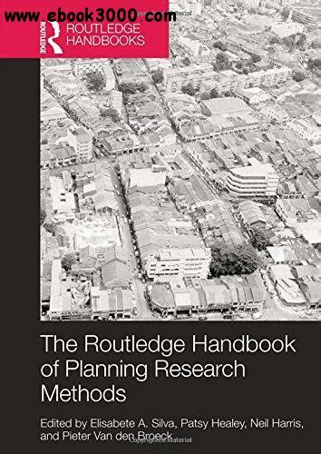 design of experiment handbook the routledge handbook of planning research methods free