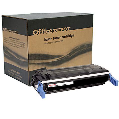 Toner Hp C9720a 641a Black office depot brand 20a hp 641a c9720a remanufactured black