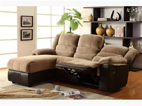 sectional sofa with recliner and chaise lounge two tone sectional sofa with one reclining seat and chaise