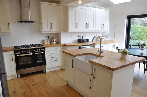 wooden kitchen ideas white kitchens with wooden worktops deductour com