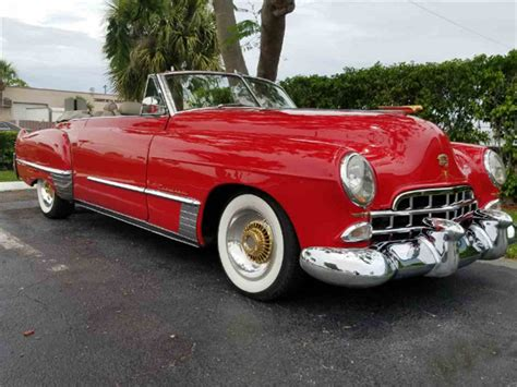 1948 Cadillac For Sale by 1948 Cadillac Convertible For Sale Classiccars Cc