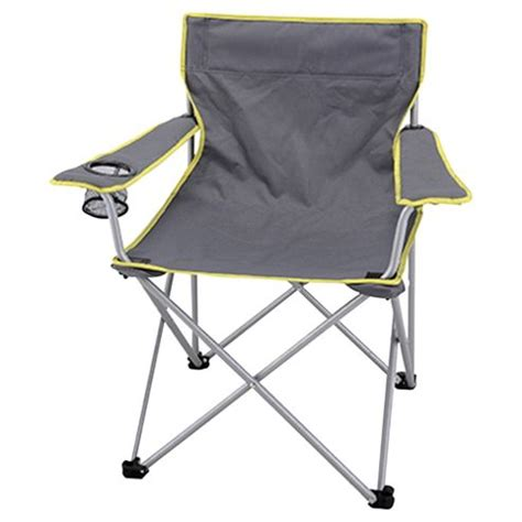 buy tesco grey folding cing chair from our cing