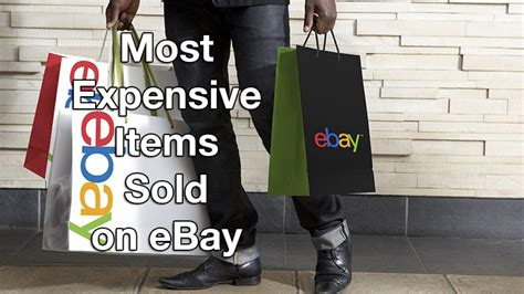 Most Things Sold On Ebay by 10 Most Expensive Items Sold On Ebay Top Spot Bought