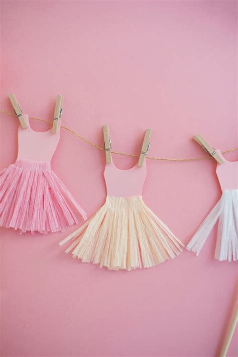 ballerina tutu cake topper diy oh happy day bloglovin