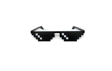 Pixel Sunglasses Meme - meme deal with it sunglasses thug life mlg