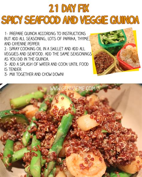 healthyish a cookbook with seriously satisfying truly simple for you but not for you recipes for real books 21 day fix spicy seafood and quinoa recipe geniabeme