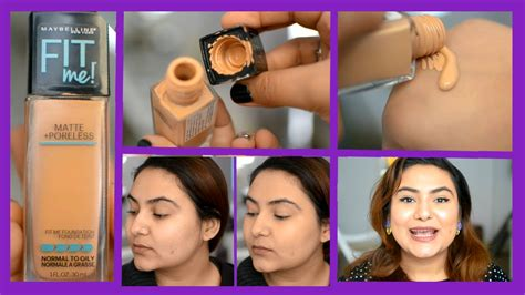 Maybelline Fit Me Foundation Review maybelline fit me foundation review delhi fashion