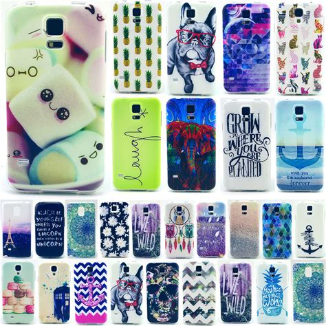 Samsung Galaxy S3 Mini Soft Ume Ultrathin 0 33mm for samsung galaxy s3 4 5 note4 various design pattern soft back cover ebay