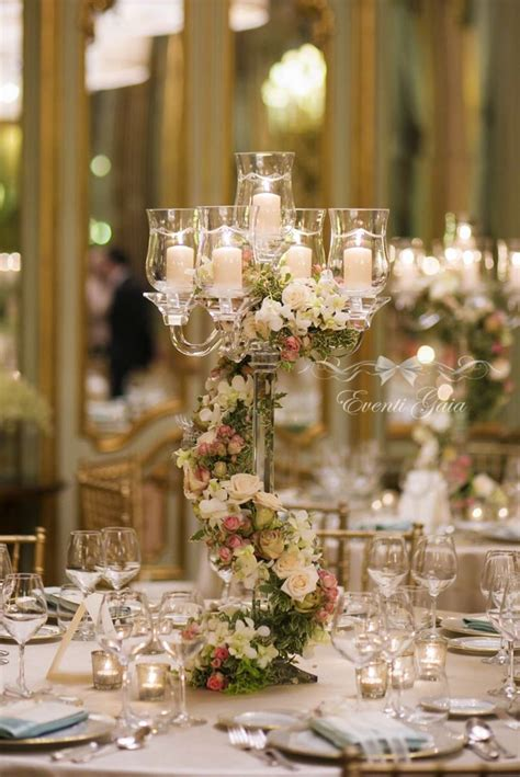 candelabra centerpieces with flowers 25 best ideas about candelabra on