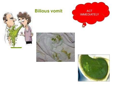 vomiting bile vomiting in children