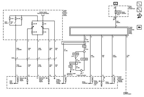 trailer wiring diagram 7 way gmc wiring diagram with