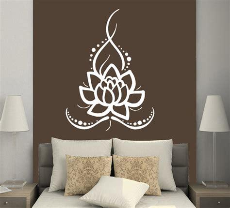 interior design stickers wall decals lotus indian buddha decal vinyl sticker