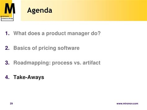 Product Management Mba Course by Product Management Basics For Scu Mba Program