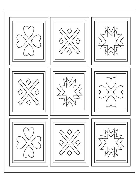 printable quilt coloring pages 9 best quilt coloring pages images on pinterest mandalas