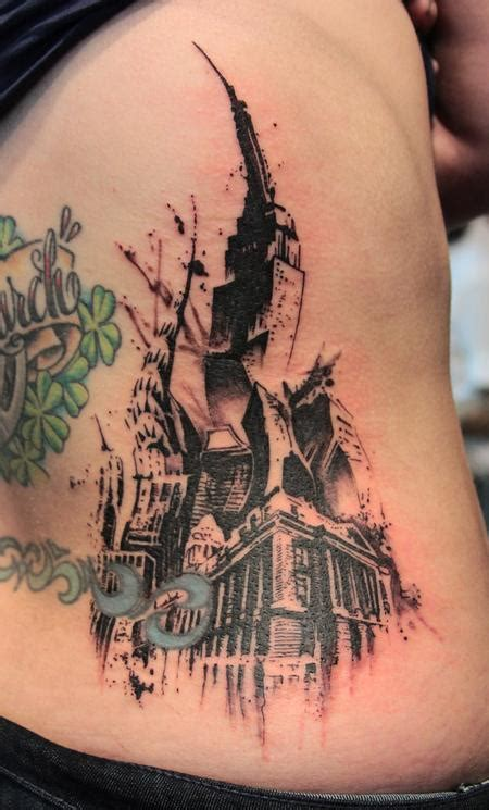 new york city tattoo new york city by gene coffey tattoonow