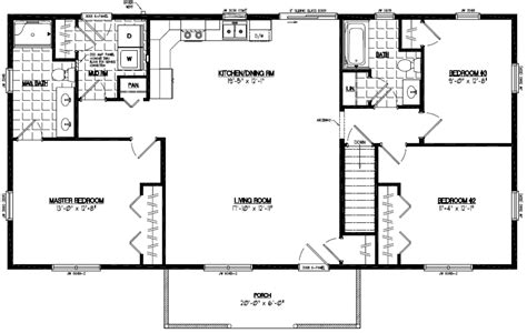 pioneer house plans floor plan pioneer 24pr1202 24 x 36 trend home design and decor