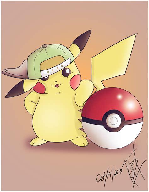 cute pikachu cute pikachu with hat by cute hat pikachu by benrivers on deviantart