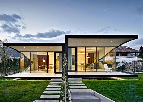 architect house arcfly mirror houses 2014 by peter pichler architecture