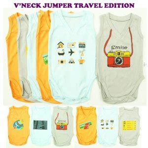 Kazel Jumper Boy 1 Box Isi 4 Pcs Kazel Bodysuit Jumper jual kazel vneck jumper bayi travel edition nyaman dan