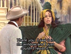 carol burnett with the wind drapes tara from with the wind