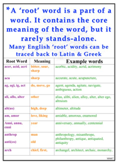 biography root word meaning prefix or suffix meaning exle or root