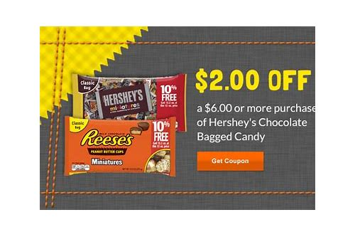 hershey's kisses coupons