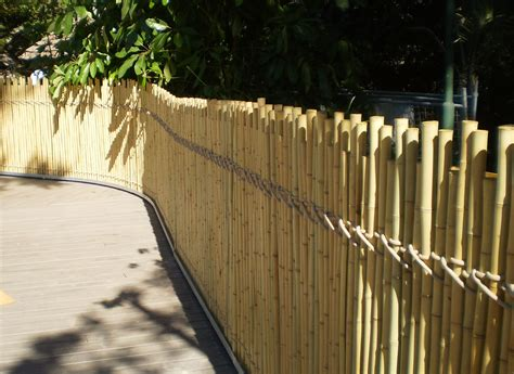 outdoor great bamboo fence roll  home fence idea