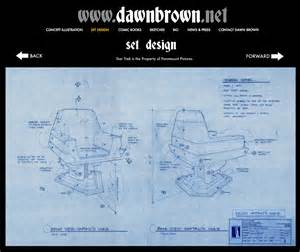build your own blueprint build your own star trek captain s chair with dawn brown