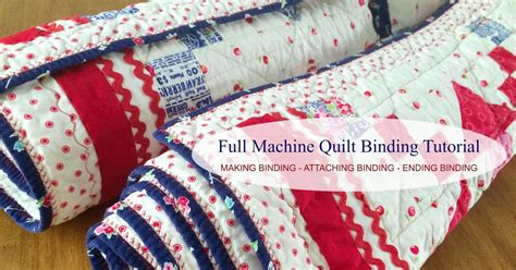 Finishing Quilt Binding By Machine by Fluffy Puppy Quilt Works Machine Quilt Binding Step